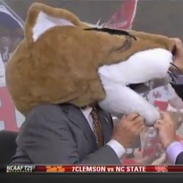 "Lee Corso Says ""Ah, Fuck It!"" On ESPN College GameDay"