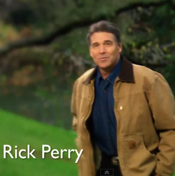 Rick Perry Going Down in a Blaze of Glory