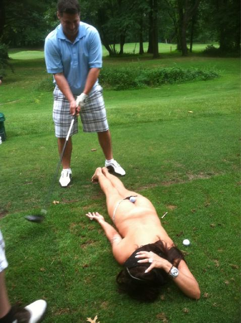 Having your uncle tee one off out of a strippers ass at the local country club. TFM.