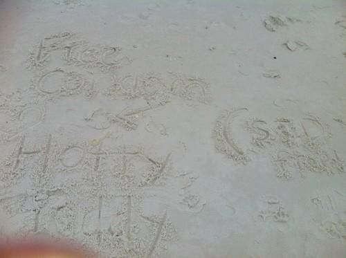 Sex on the beach. TFM.