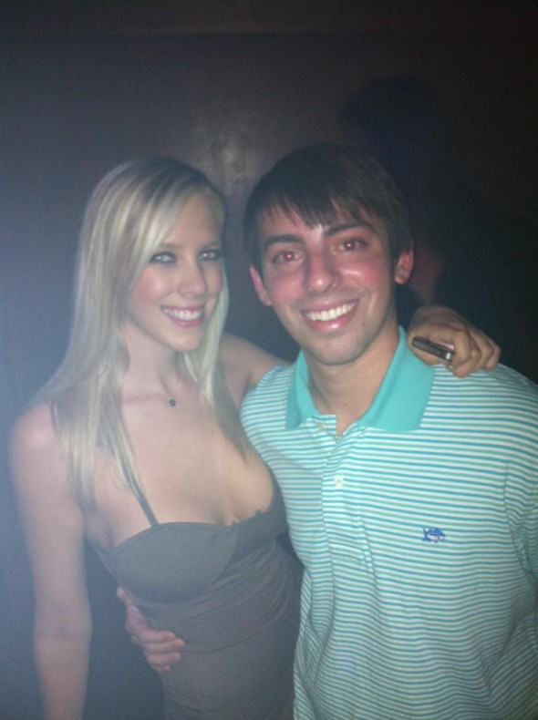 Partying with a porn star. TFM.
