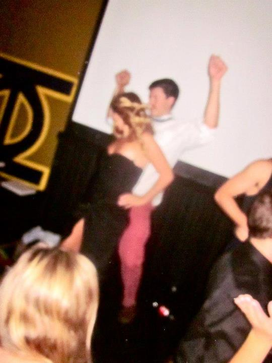 Inappropriate white guy dance moves. TFM.