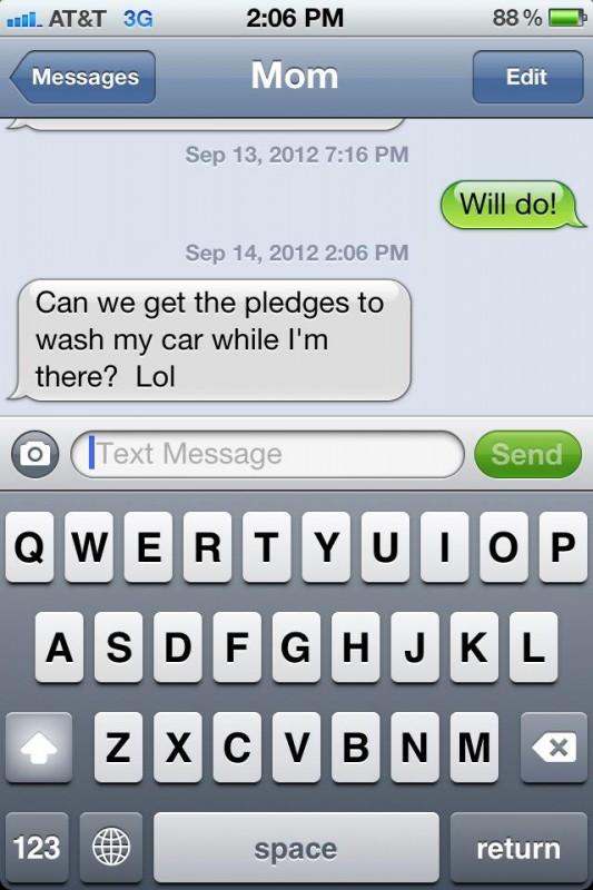 Mom gets it. TFM.