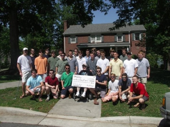 Raising $3,000 to help buy a service dog for a youth with Muscular Dystrophy. TFM.