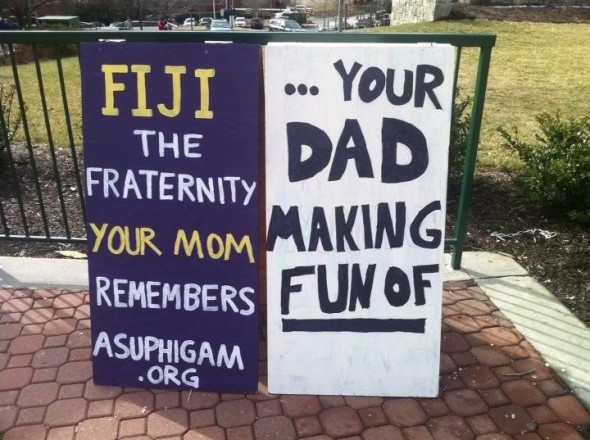 One sign washes the other. TFM.
