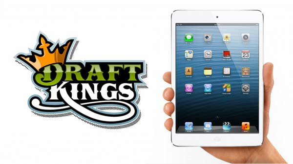 WIN iPad Mini Playing Fantasy Baseball