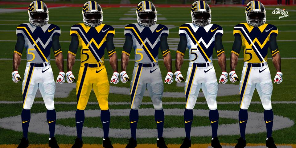 Total frat move these ncaa football concept uniforms are incredible