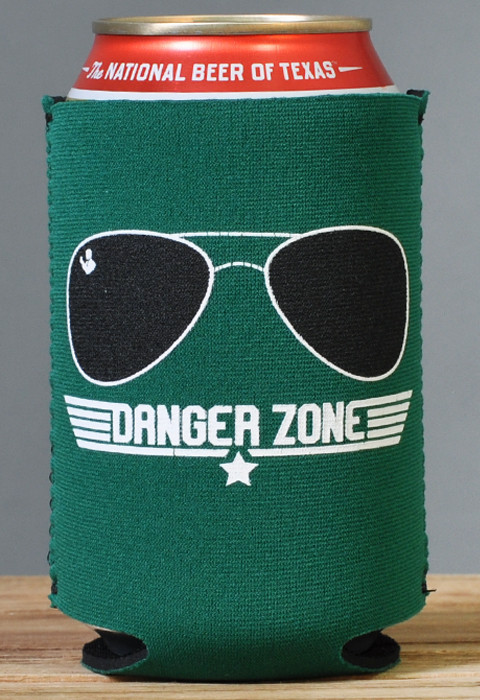 Kenny Loggins' koozie of choice. We can't prove that, but it's a safe assumption.