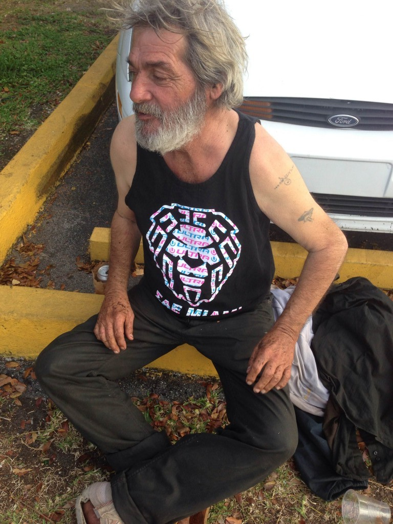 Homeless frat.