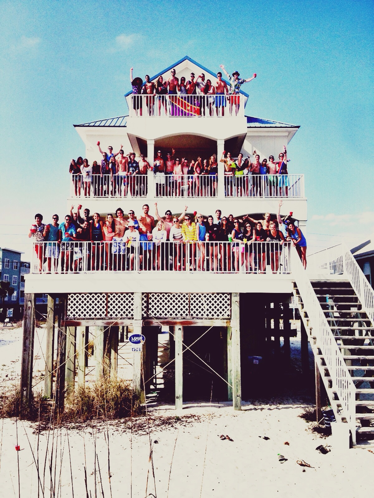 Owning the beach. TFM.