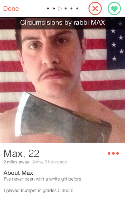 tinder for Clever guys bios