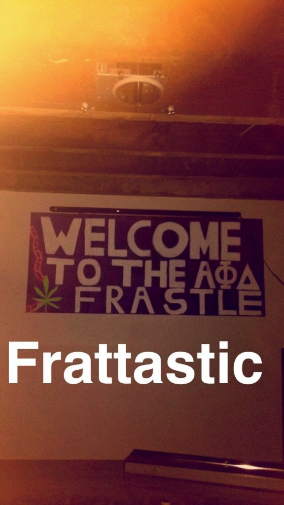 "Come on, man. You can't actually call it the ""frastle."""