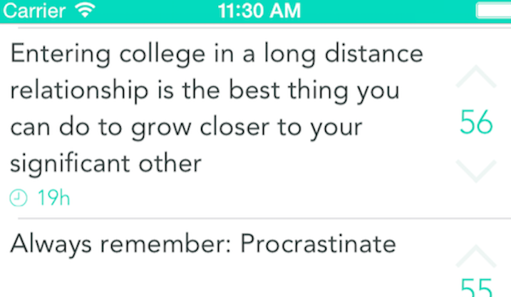 college freshman advice