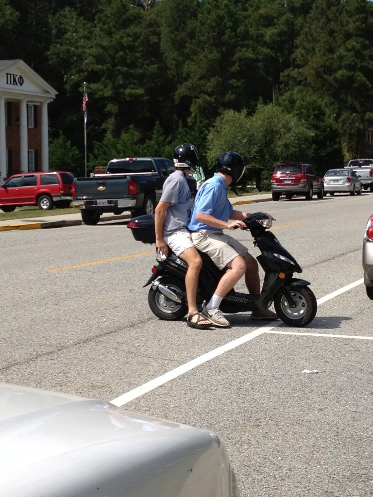 Dumb and Dumber style transportation. TFM.