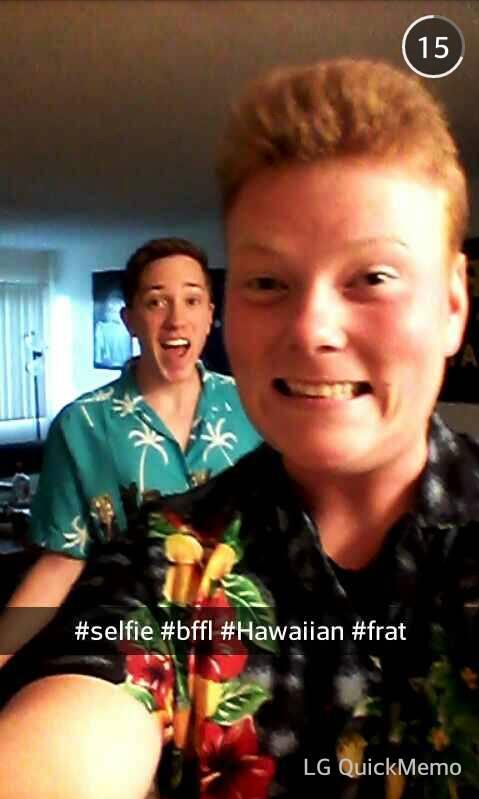 #selfie #bffl #Hawaiian #frat