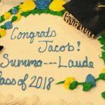 graduation cake publix summa cum laude