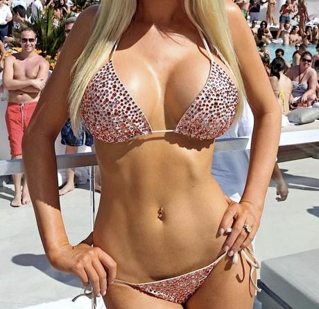 Beautiful fake breasts