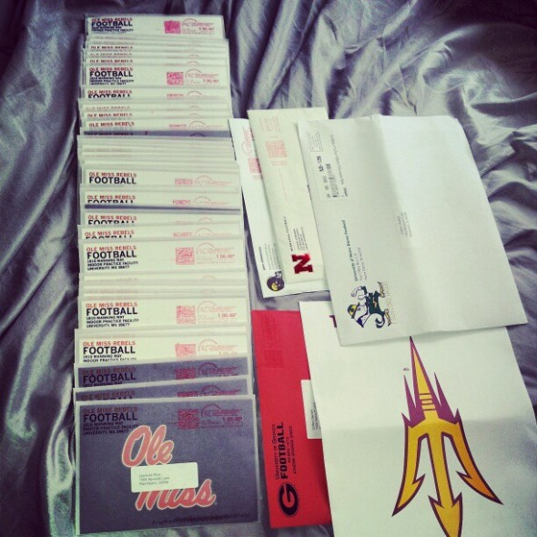 Ole Miss letters