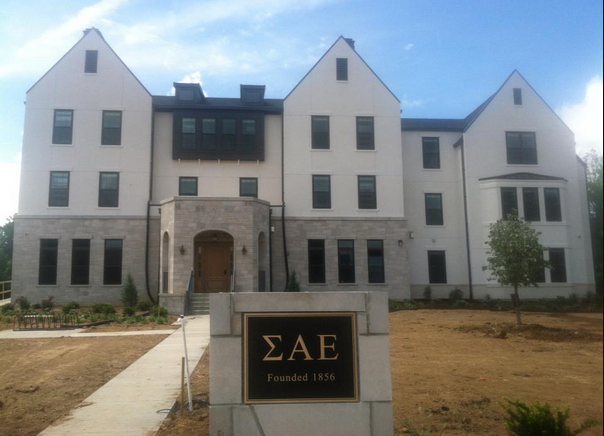 Total frat move ae at indiana university opens doors to for Cost to build a house in indiana
