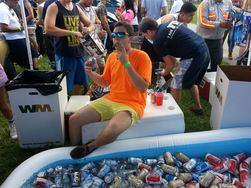 Beer pool, enough said. TFM.