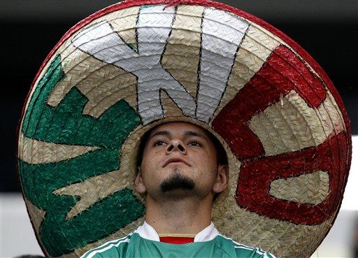 Brazil Mexico Soccer