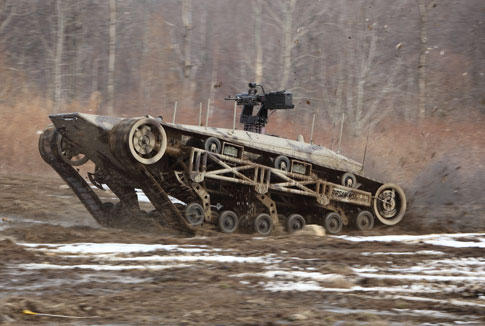 rip-saw Unmanned Ground Vehicle 2