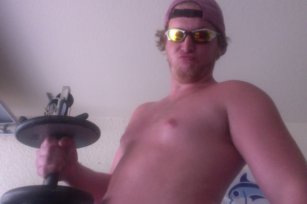 Pumping iron. TFM.