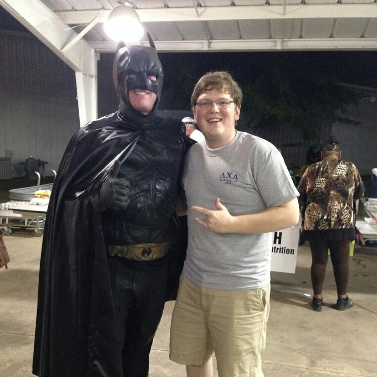 He's boys with Batman!