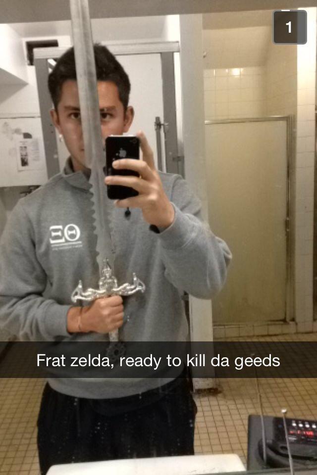 Frat Zelda slays bitches.