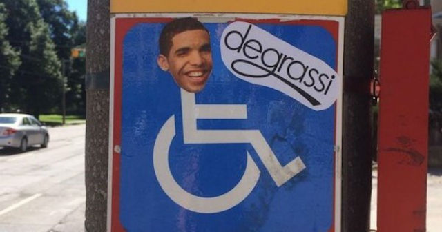 Journalist-Drakes-face-wheelchair-signs-meme