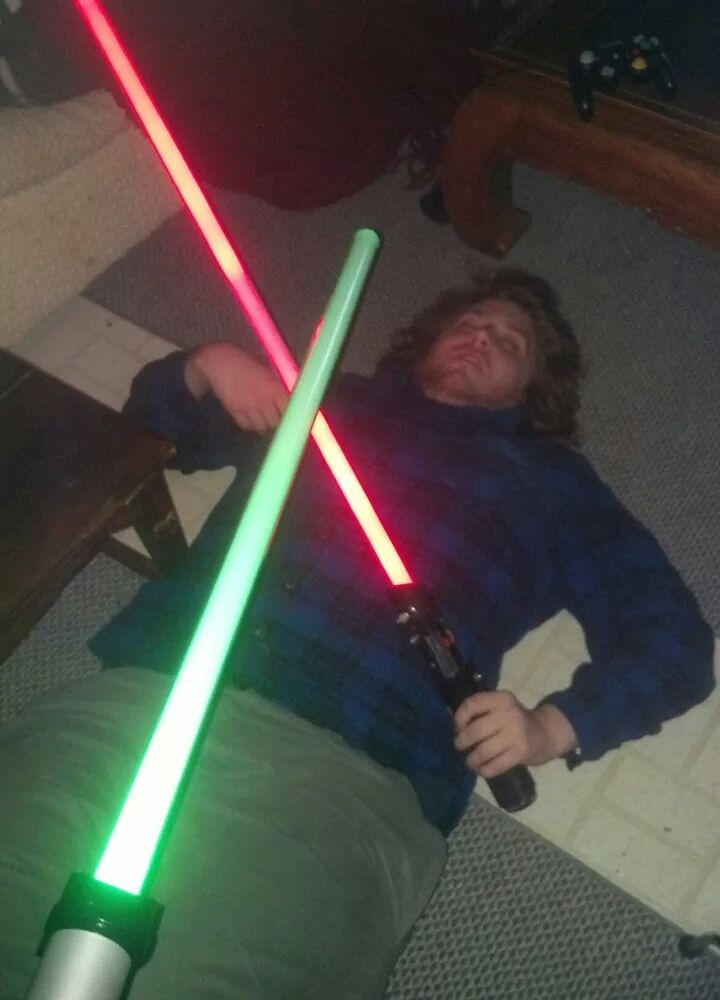 Jedi down.